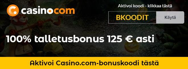 Casino.com kampanjakoodi