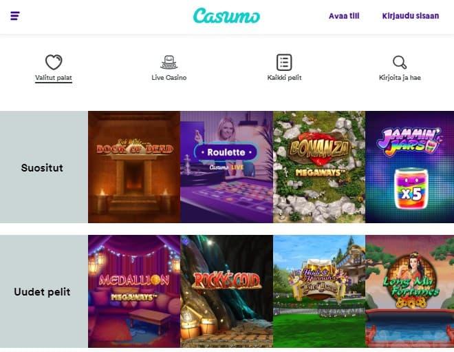 Casumo casino 2019 kokemuksia