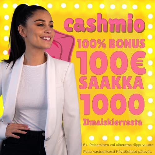 Cashmio casino tarjoaa hyvät edut
