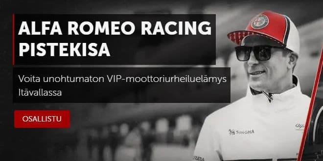 Betsafe Kimi Räikkönen ja Alfa Romeo