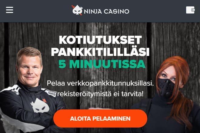 Ninjacasino.com arvostelu