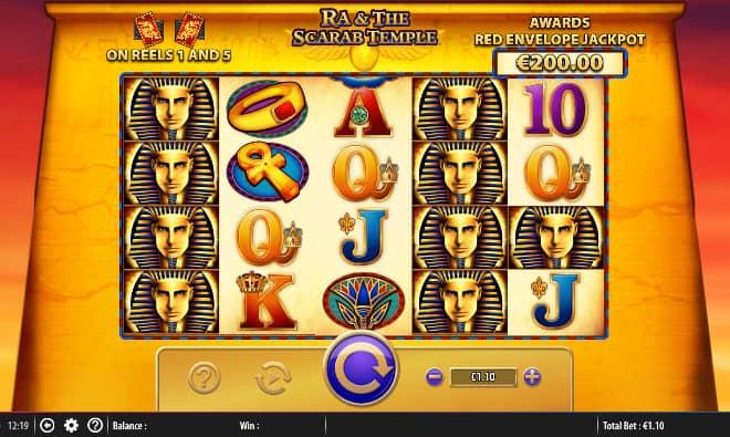 Ra & The Scrab Temple kolikkopeli Bally Technologies