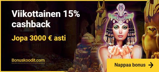 Zet Casino cashback