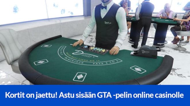 GTA Online casinolla pääset jännittämään kasinopeleistä