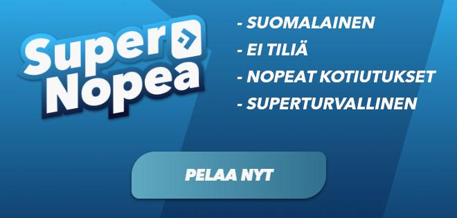 SuperNopea banneri