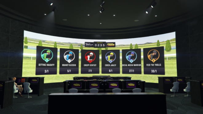 GTA online casino virtuaaliraveista voi lyödä vetoa
