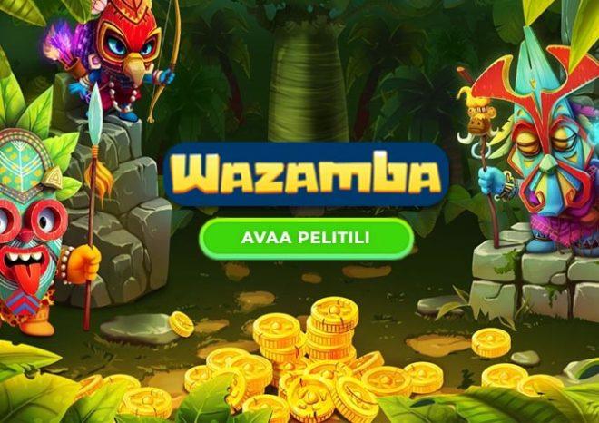 Avaa pelitili Wazamba kasinolle