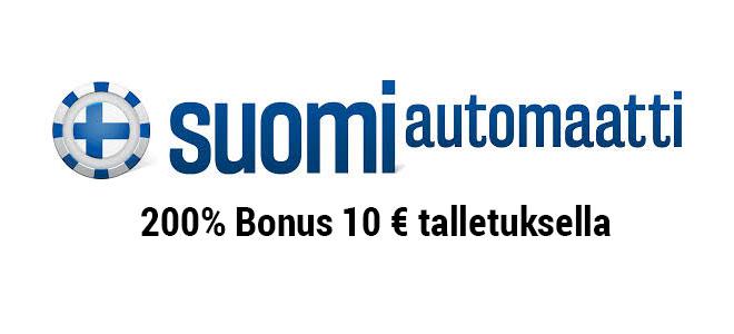 Suomiatuomaatti 200% bonus