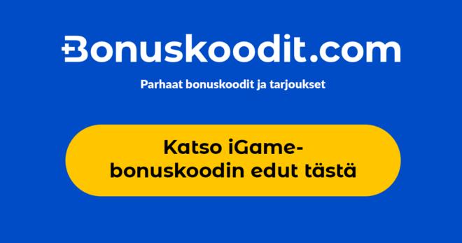 Igame Bonus Code