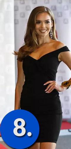 Miss Suomi 2019 kilpailija numerolla 8 on Elisa Karimo