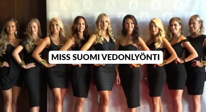 Miss Suomi 2019 kilpailijat