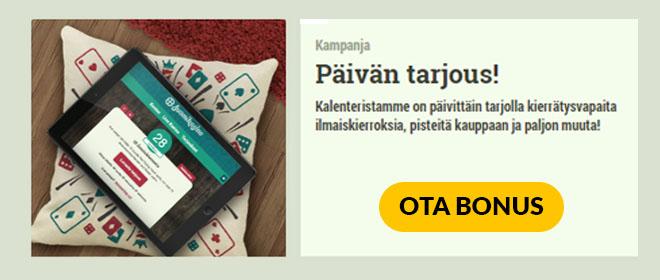 Suomikasino kampanja