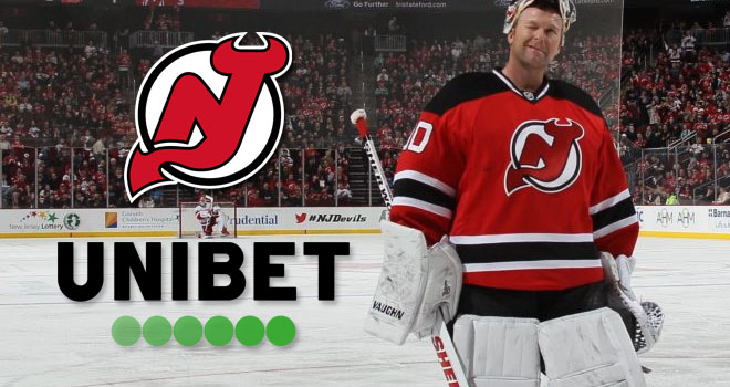 New Jersey Devils sekä Unibet aloittavat yhteistyön