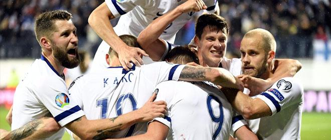 Suomen jalkapallomaajoukkue huuhkajat pelaa mitä todennäköisimmin jalkapallon EM kisoissa 2020
