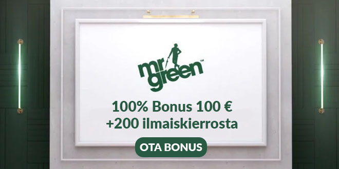 Mr Green Casino ensitalletusbonus