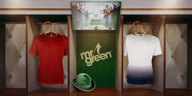 Mr Green soveltuu erityisesti jalkapallon ystäville