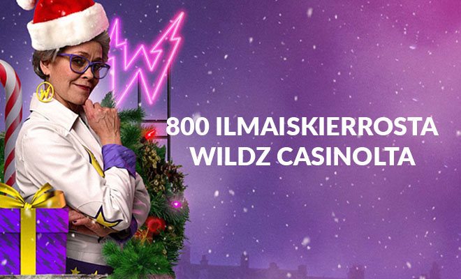 800 KIERROSTA WILDZ CASINOLTA