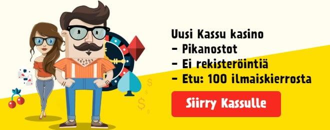 Kassu on uusi kasino erittäin nopeilla nostoilla ja ilman rekisteröintiä. Tutustu tästä Kassuun.
