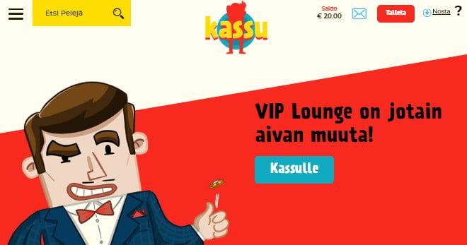 Jos olet isomman luokan pelaaja voit päästä Kassu.com VIP-ohjelmaan josta saat huikeita etuja