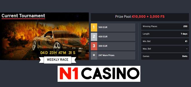 N1 Casino turnaus