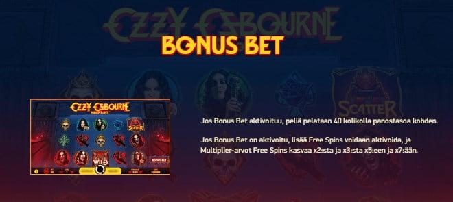 Ozzy Osbourne pelin ohjeet osa 1 bonus bet