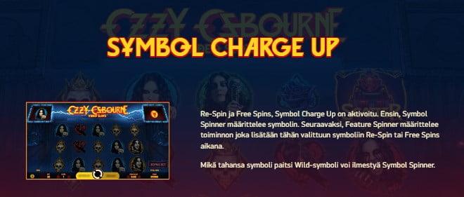 Ozzy Osbourne pelin ohjeet osa 2 Symbole charge up