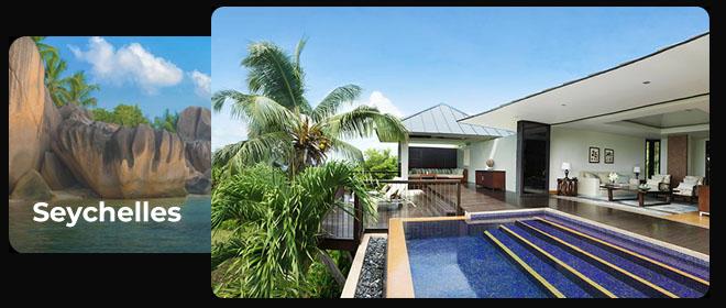 Matkapaketti Seychelleille