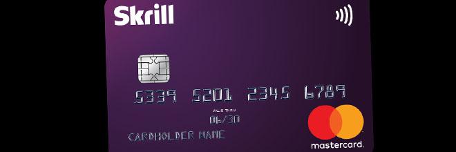 Skrill mastercard