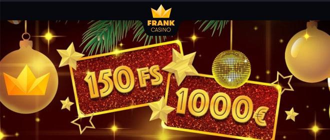 Frank Casino ensitalletusbonusta
