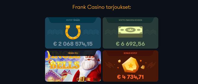 Frank Casino kampanjat