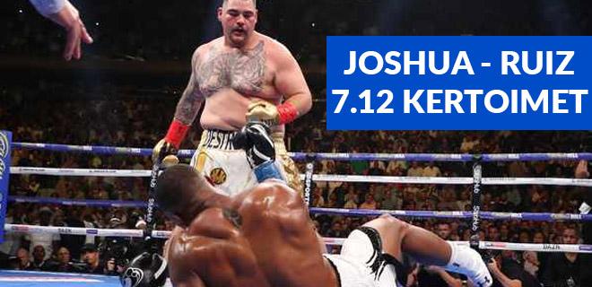 Joshua Ruiz kertoimet