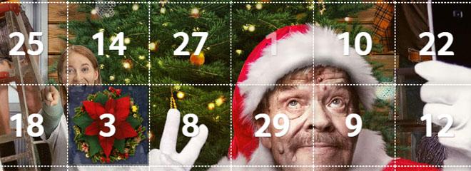 kolikkopelit joulukalenteri
