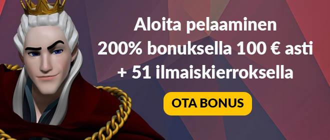 King Billy uusi bonus