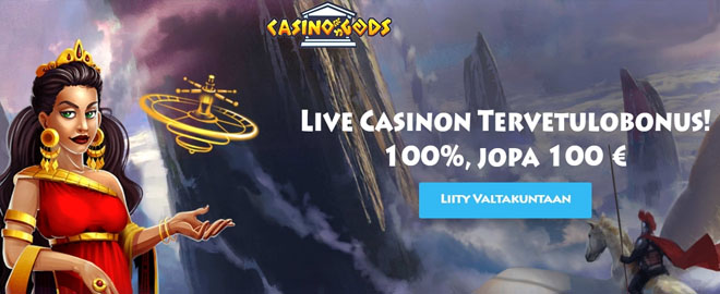 Live casino talletusbonus Casino Godsilta