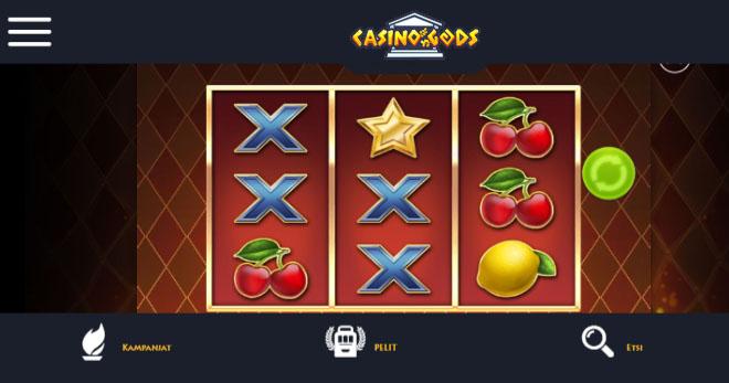 Casino gods mobiilissa