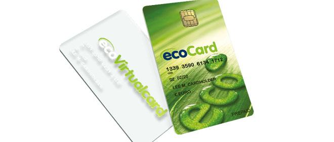 EcoPayz kortti