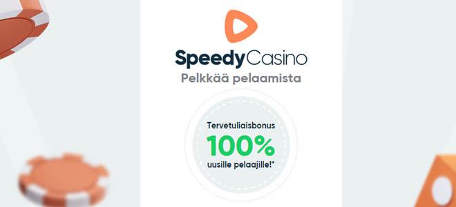 Speedy Casino uuden asiakkaan bonus