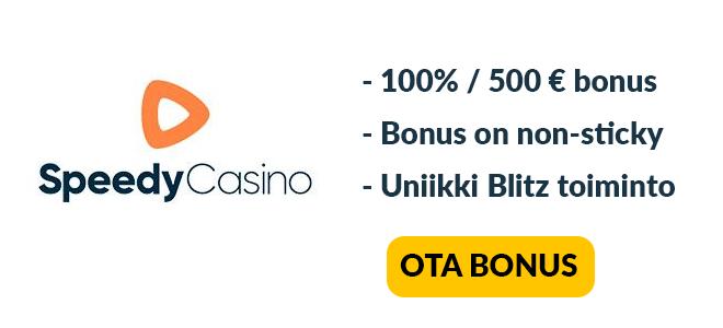 Speedy Casinon bonus