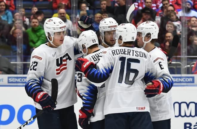 USA u20 jääkiekko joukkue