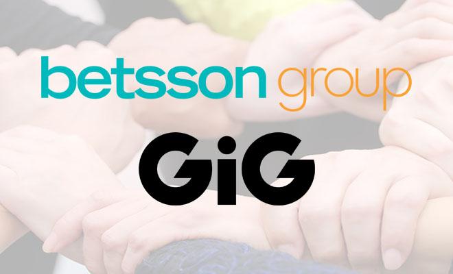 GIG myi kasinonsa Betsson Groupille