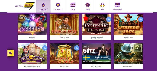 Lucky Casino kokemuksia pelivalikoimasta