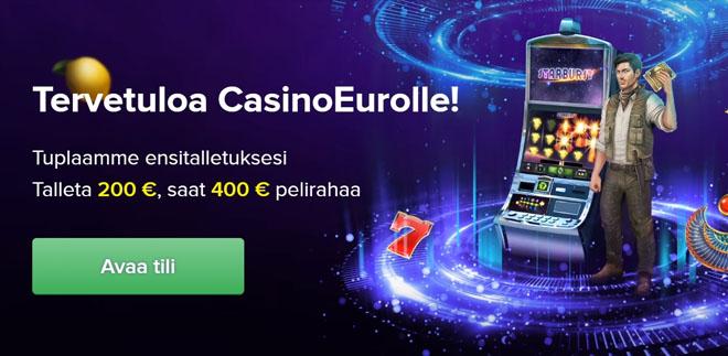 Casino euron maaliskuussa 2020 uudistunut bonus