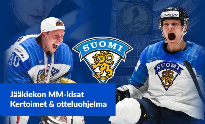 Jääkiekon MM kisat ovat alkamaisillaan - Katso parhaat kertoimet MM-kisojen vedonlyöntiin tästä artikkelista