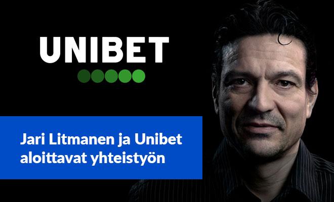 Jari Litmasesta tulee uusi vastuullisen pelaamisen lähettiläs Unibetille