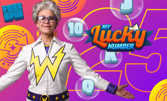 My Lucky Number on uusi Wildz Casinon kolikkopeli
