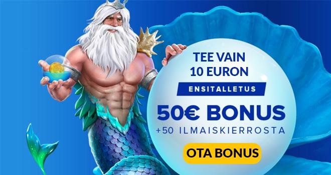 Ahti Games 500% talletusbonus