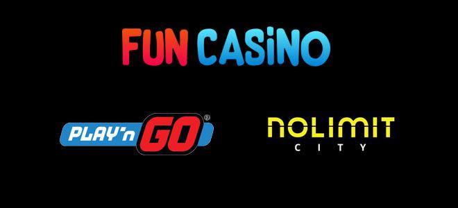 Fun Casino lisäsi valikoimaansa playn go sekä nolimit cityn pelit