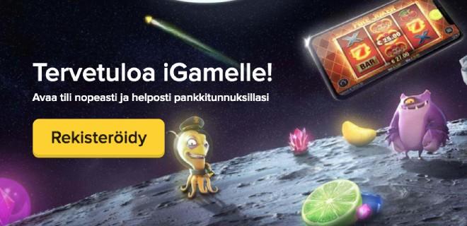 iGame kasinolla on bonusten sijasta tarjolla huikea määrä pelejä sekä nopeat kotiutukset