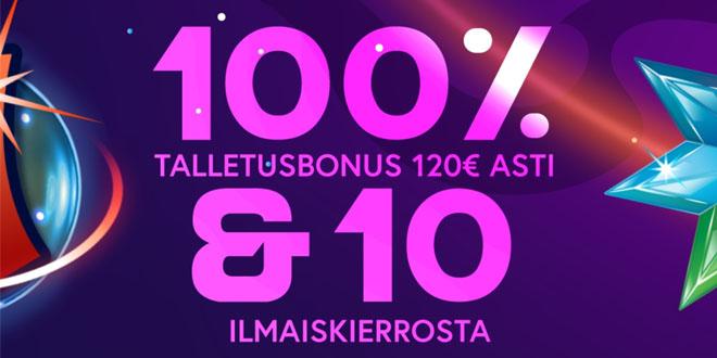Pävitetyllä bonuskoodilla saat jopa 70 euroa enemmän bonusta kuin normaalisti