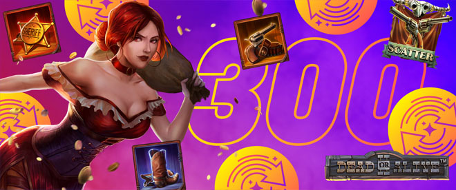 Lunasta itsellesi jopa 300 kierrosta Dead or Alive 2 peliin